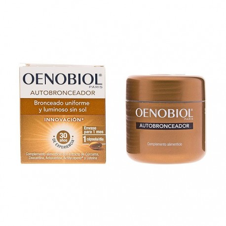 Oenobiol Autobronceador 30 Cápsulas