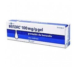 BENZAC (100 MG/G GEL TOPICO 40 G )