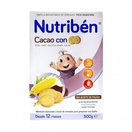 Nutribén Cacao con Galletas María 500gr
