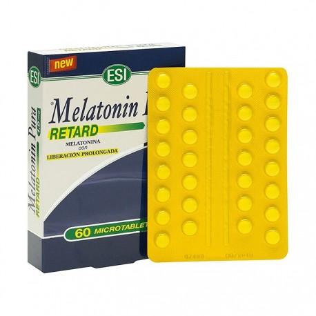 Esi Melatonin Pura Retard 1.9 Mg 60 Tabletas Accion Retard