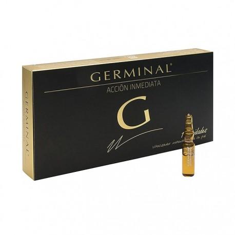 Germinal Ampollas Acción Inmediata 10 Ampollas de 1.5 ml