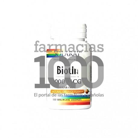Solaray Biotin 1000mcg 100cáps