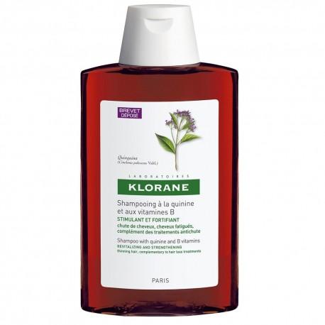 klorane champú tratante a la quinina caída cabello 200ml