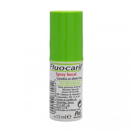 fluocaril spray bucal 15 ml