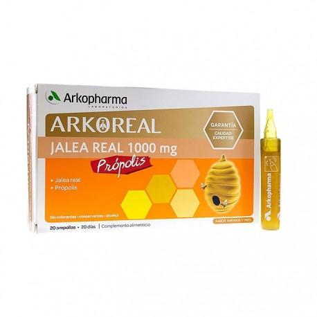 arkoreal jalea real-propolis 20 ampollas