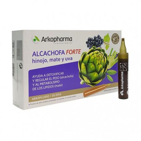 Arkofluido Alcachofa Forte 15 ml 20 Ampollas