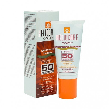 Heliocare Color Gelcream SPF 50+ 50ml Brown