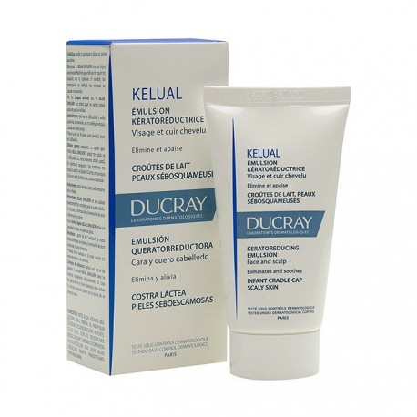 ducray kelual emulsion p/escamosa 50 ml