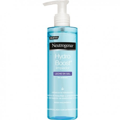 Neutrogena Hydro Boost Limpiador Leche en Gel 200ml