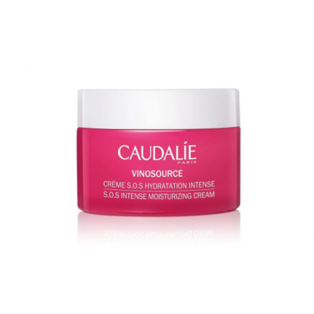 Caudalie Vinosource Crema S.O.S Hidratación Intensa 50ml
