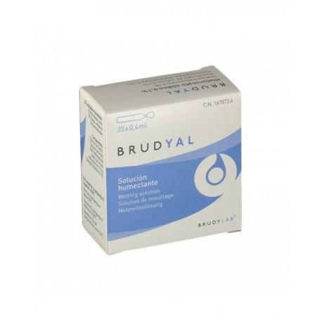 Brudyal solución humectante 0.4ml x 20uds