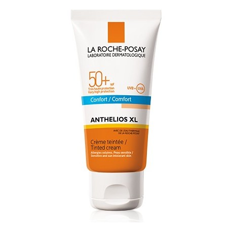 anthelios crema 50+ con color 50 ml